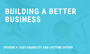 Sustainability and Lifetime Offers